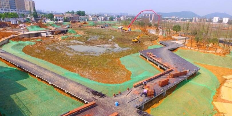 长沙后湖水环境综合整治工程主体完工