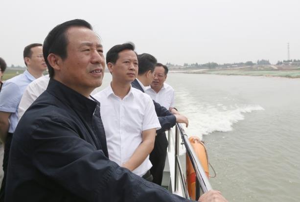 """许达哲:坚定不移走生态优先绿色发展之路 把""""一湖四水""""变为湖南的亮丽名片"""