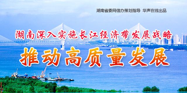 湖南深入实施长江经济带发展战略 推动高质量发展