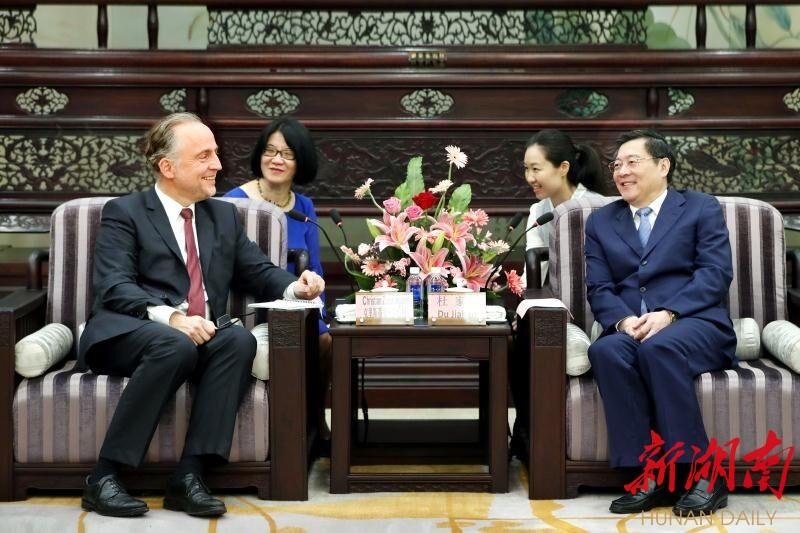 卓伯根集团中国区总部在湘开建