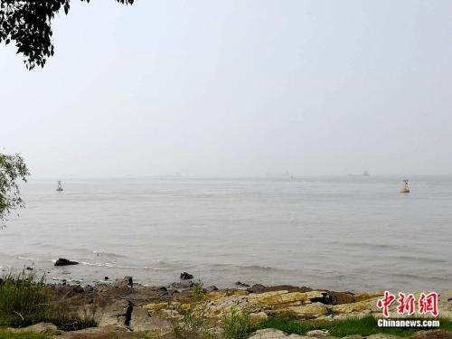 长江狼山饮用水源地。袁秀月 摄