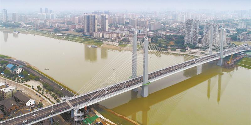 益阳西流湾大桥通车 益阳再添一条过江通道