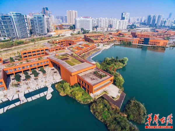 """【湘江新区三周年】58小镇:公园里的未来""""湖湘硅谷"""""""