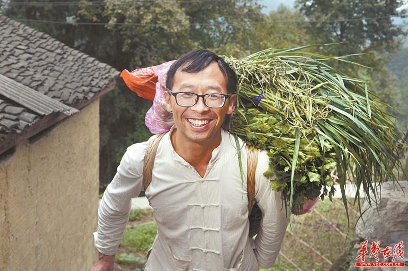 开农家乐的杨超文:我还想扩大经营,开个休闲山庄