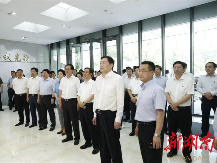 快讯丨杜家毫许达哲率湖南省党政代表团抵浙考察