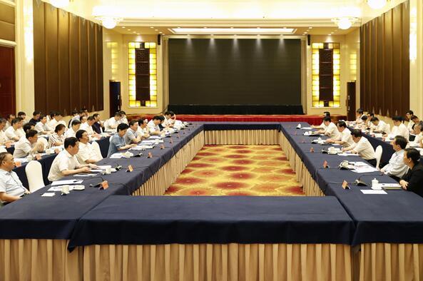 浙江•湖南经济社会发展情况交流座谈会在杭州举行