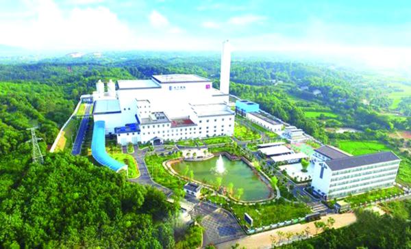 烟气排放全面执行欧盟2010标准 益阳这个垃圾焚烧发电厂处处鸟语花香