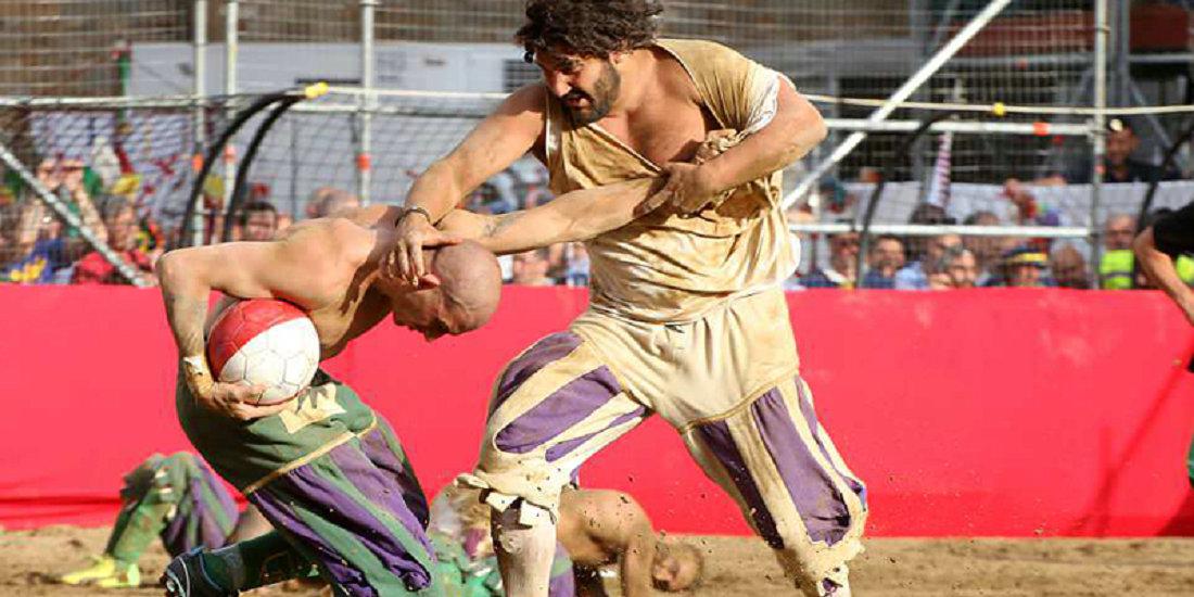 世界最残暴的竞技!意残暴古典足球火热开赛