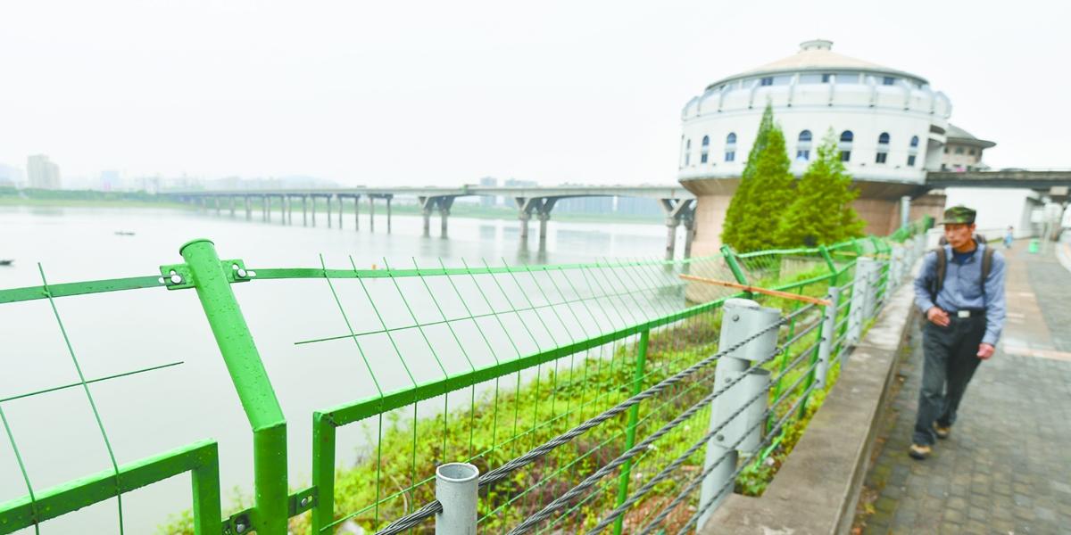 隔离保护湘江饮用水源