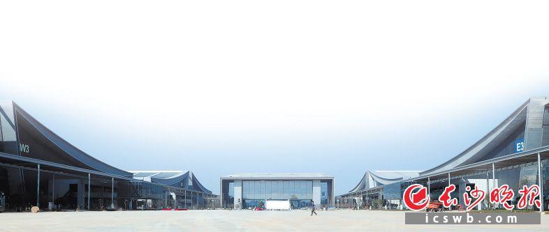长沙国际会展中心主展馆。本版图片均为章帝 摄