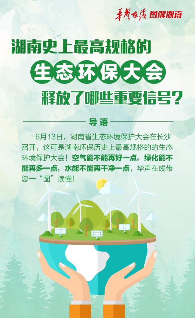 【图解】湖南史上最高规格的生态环保大会释放了哪些重要信号?
