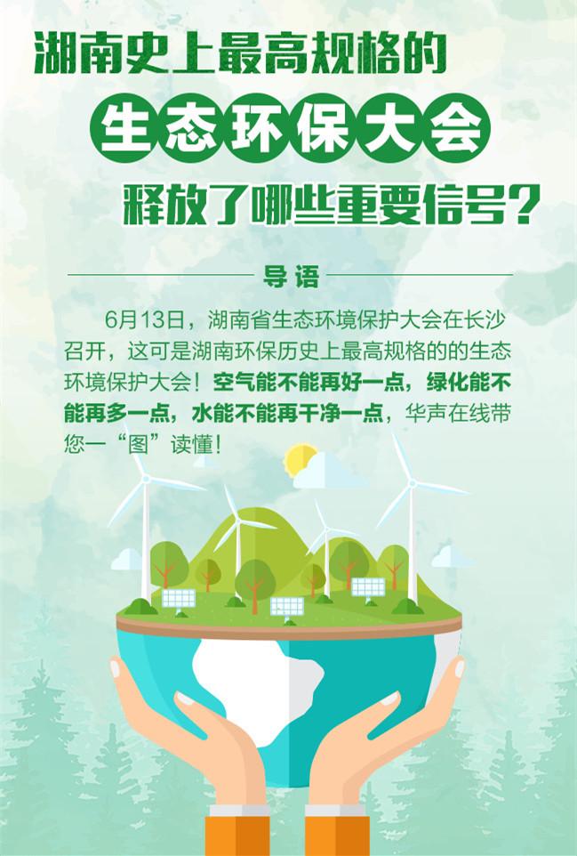湖南史上最高规格的生态环保大会释放了哪些重要信号?