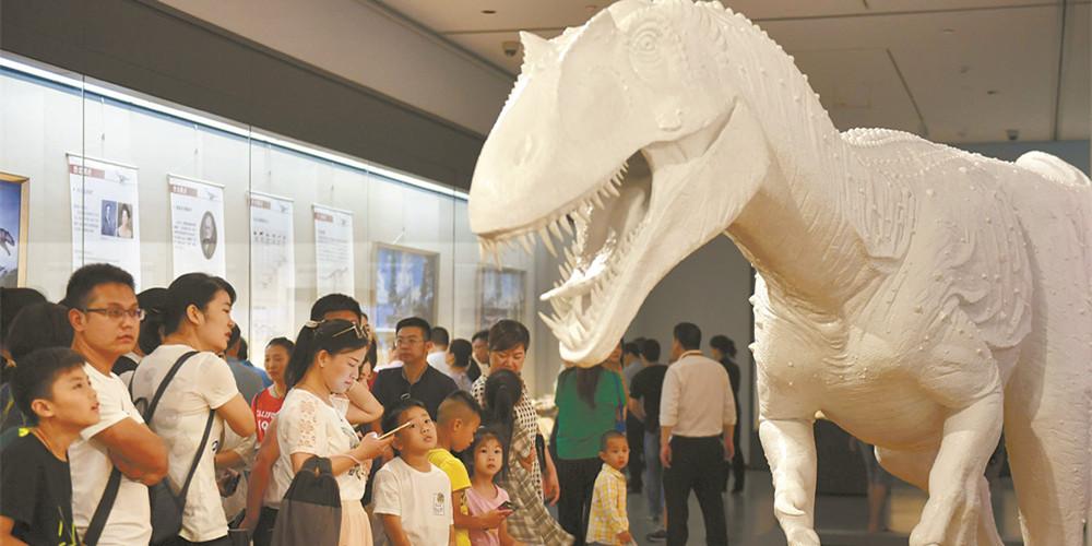 """""""恐龙大复活""""展览在长沙博物馆开展"""
