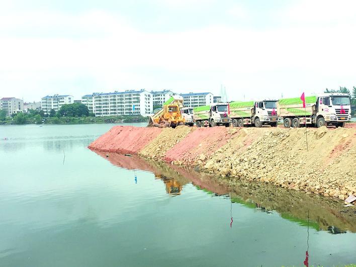 岳阳东风湖水环境综合治理正式启动