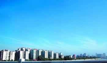 今年长沙空气质量优良天数累计达120天