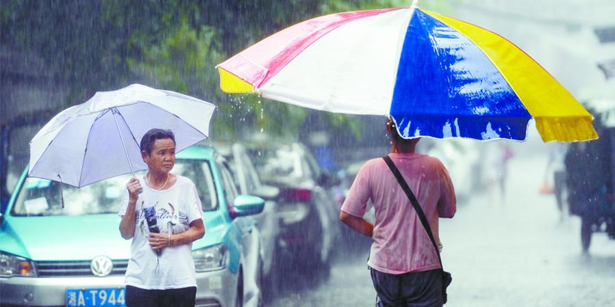 湖南强降雨来袭