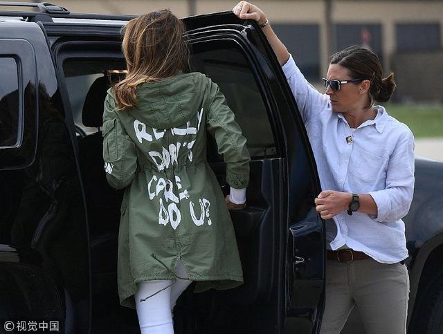 北京赛车赚钱技巧:全美国都在争:第一夫人外套上那句话什么意思?