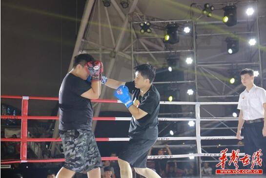 """""""我就是拳王""""长沙海选 报名火爆掀全民健身热"""