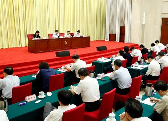 湖南省级党员领导干部会议 传达全国组织工作会议精神