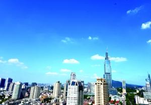 上半年湘潭市空气质量优良率78.3%