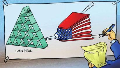 """美国""""围剿""""伊朗石油难如愿"""