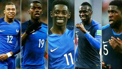 法国夺冠靠非洲?