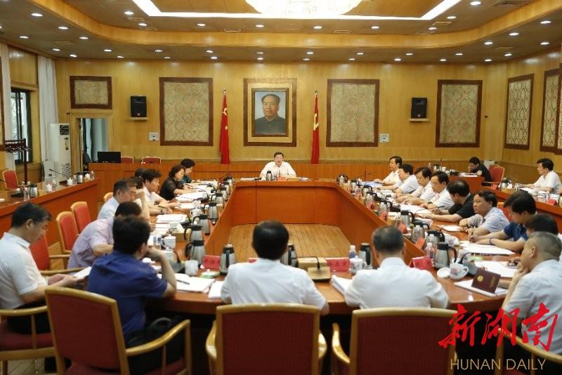 杜家毫许达哲出席省委外事工作领导小组会议