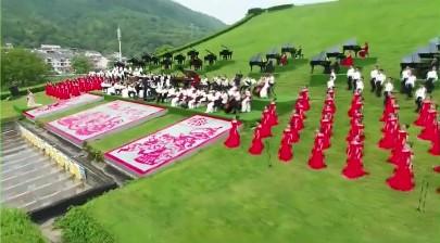 118架钢琴千人合唱《我爱你,中国》