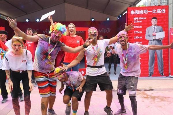 TutorABC、vipJr助跑The Color Run上海站,用英语跑出彩