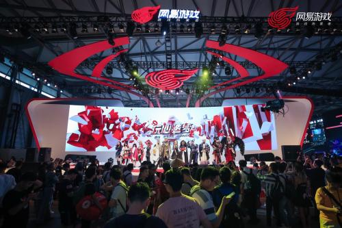 狂欢落幕,你不能错过的网易游戏ChinaJoy2018精彩瞬间!