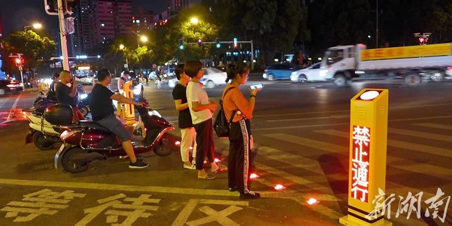 长沙城区首条智能化路口建成启用