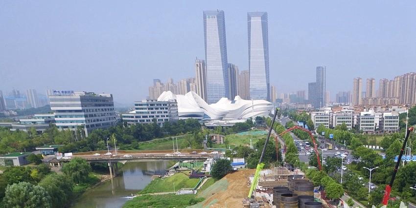 提升水质 长沙龙王港综合治理一期工程即将完工