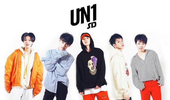 人气偶像UN1组合酷狗新歌首秀 近4W人在线燃烧!
