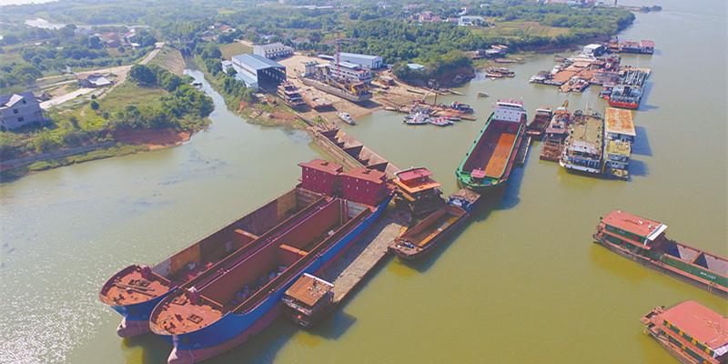 湘阴整合升级船舶产业