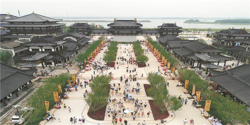 铜官窑古镇正式对外开放