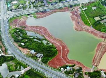 株洲:城东有个日月湖 预计12月完工