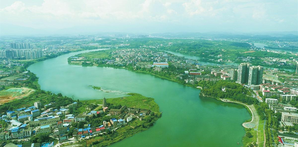 绿色环绕生态城