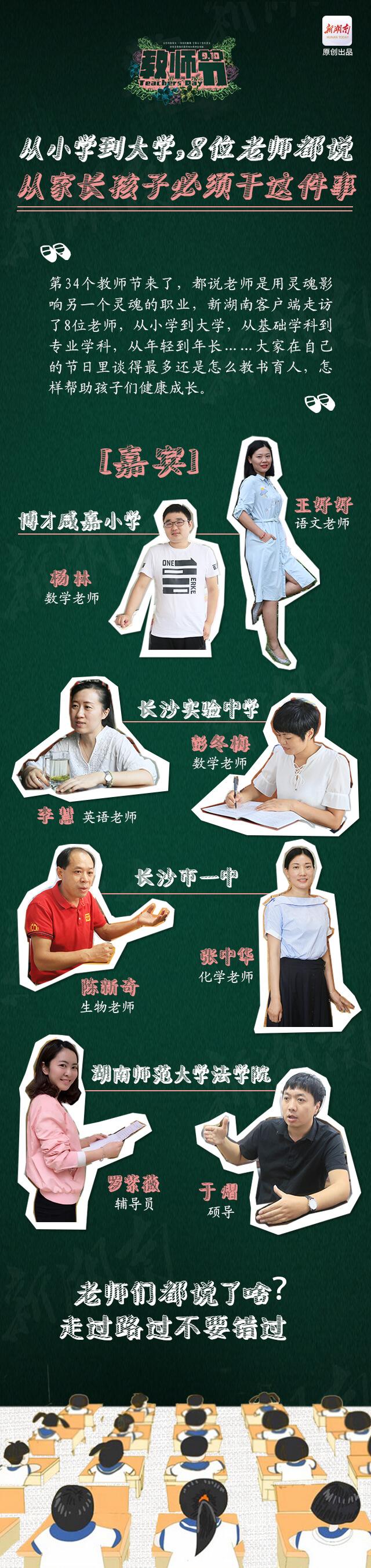 教师节听老师说 从小学到大学,和孩子相处要了解这9点