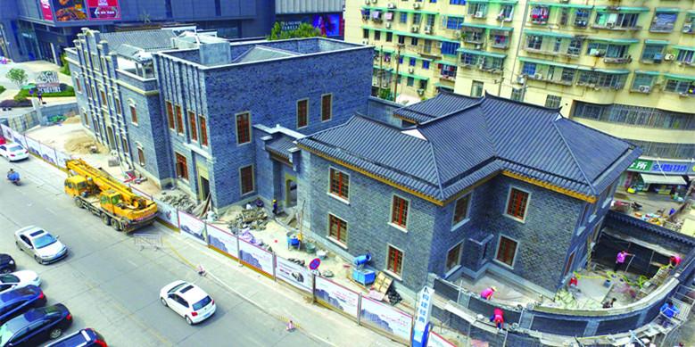 长沙太平街重现两座古建筑