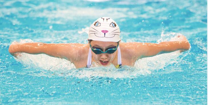 【湖南省运会】青少年组游泳比赛开赛