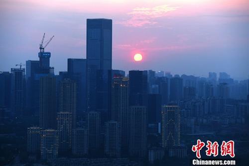 资料图:高楼。<a target='_blank' href='http://www.chinanews.com/'>中新社</a>记者 陈超 摄