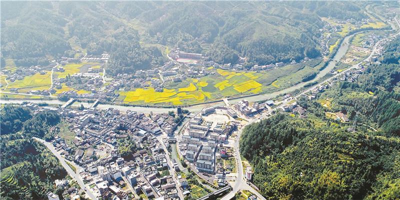 桂东县打造多彩生态小镇