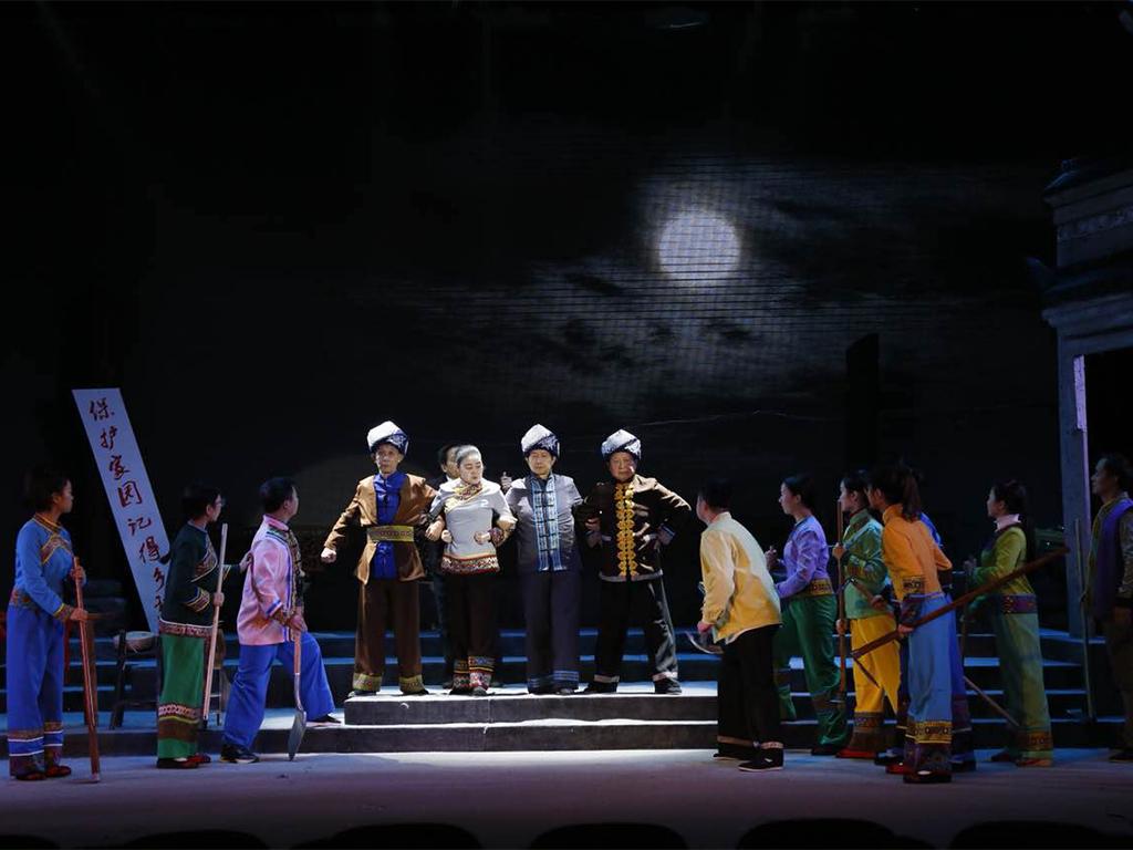 《月是故乡明》入选第六届湖南艺术节