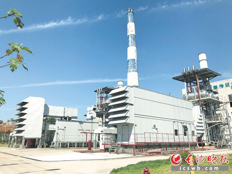 昨日,位于浏阳经开区的长沙新奥分布式能源项目正式投产,该项目能源利用率能够超过80% 。长沙晚报记者 王志伟 摄