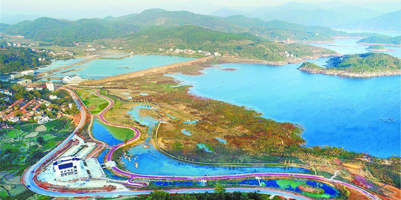东江湖畔添美景