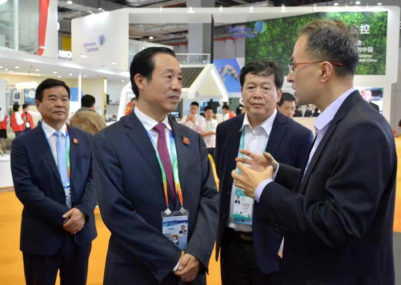 许达哲出席进博会开幕式:欢迎来湘投资兴业 共享湖南发展机遇