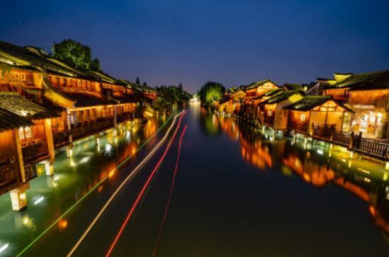 这是11月6日拍摄的乌镇风景.新华社记者才扬摄