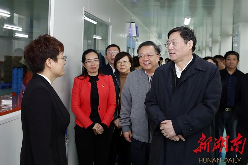 杜家毫在郴州调研:大力支持民营企业发展壮大