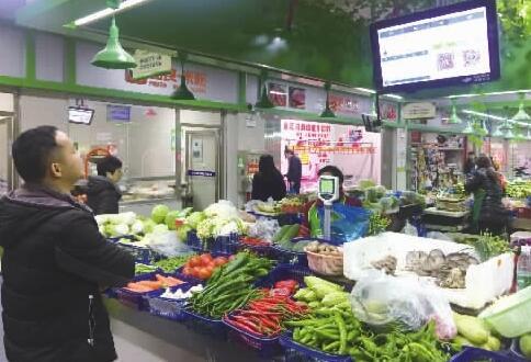 雨花区农贸市场大变样 买菜就像逛超市
