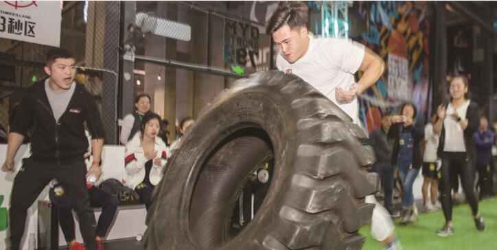 看谁是体能王 湖南全民运动会举行大力士总决赛在长沙举行